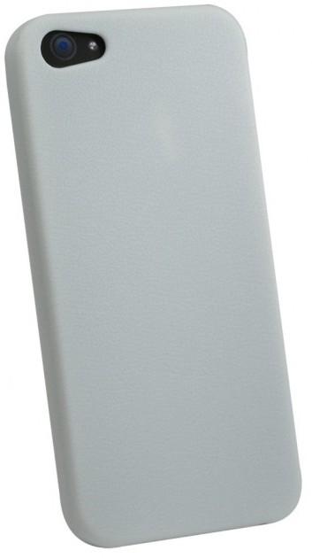 custodia pelle bianca iphone 5