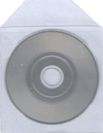 Busta  per Mini CD in polipropilene con flap