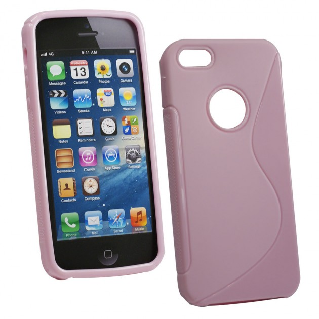 custodia 5s iphone rosa