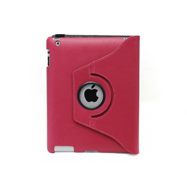 Custodia stand ruotabile per iPad 2 /3 /4 Rossa