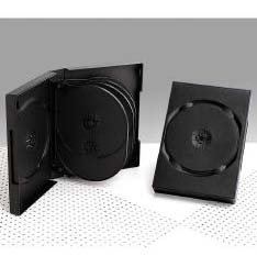 Custodia DVD 10 posti da 33mm Black