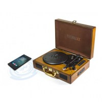 Giradischi-Convertitore-Vinile-LP-Bluetooth-MP3-WMA-3-Velocità-Marrone_Technaxx_ICTX-TX101BR-2